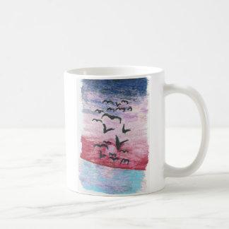 pink sunset inspiration mug