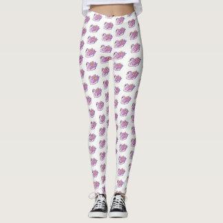 Pink Swans - Leggings