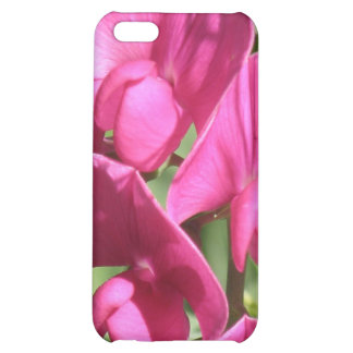 Pink Sweet Pea iPhone 4 Case