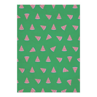 Pink Sweet Watermelon Picture Print