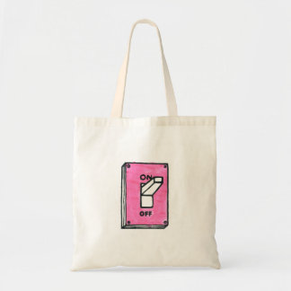 PINK SWITCH TOTE BAG