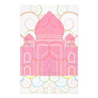 Pink Taj Mahal Stationery