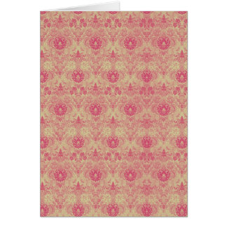 Pink Tapestry ~ Card / Invitations