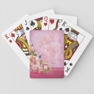 Pink Tea Party Playing Cards