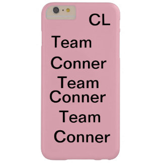 pink team conner iphone 6 plus case. barely there iPhone 6 plus case