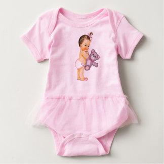 Pink Teddy Bear Baby Girl T Shirt