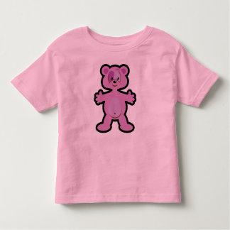 Pink Teddy Bear Design Tee Shirts