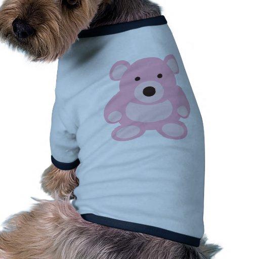 Pink Teddy Bear Pet Shirt