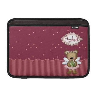 Pink Teddy Bear Fairy Princess Sleeves For MacBook Air