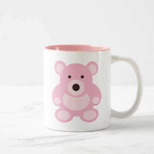 Pink Teddy Bear Mug
