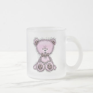 Pink teddy bear coffee mug