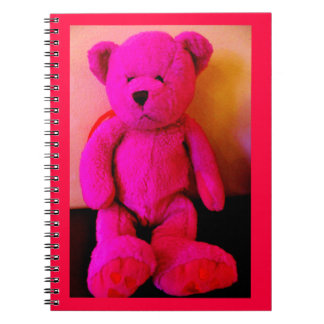 Pink Teddy Bear Notebook