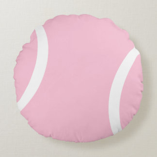 Pink Tennis Ball ~ Perfect Round Cushion
