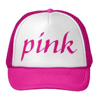 pink tennis hat sport club