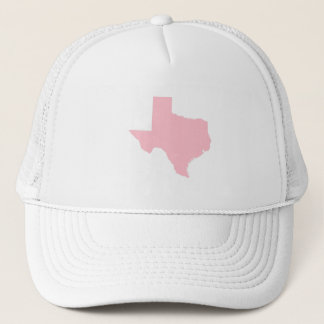 Pink Texas Trucker Hat