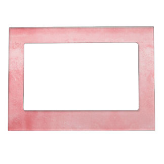 Pink Textured Pattern Magnetic Picture Frame