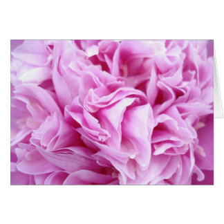 Pink Thinking of You Notecards Card