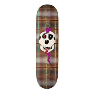 Pink Thrash Mohawk by greyeyesgabriel Skateboard