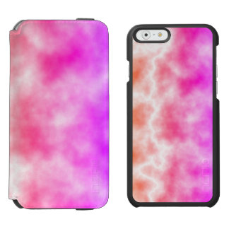 Pink Thunder Storm Sky Incipio Watson™ iPhone 6 Wallet Case
