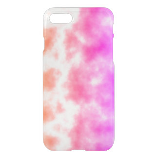 Pink Thunder Storm Sky iPhone 8/7 Case