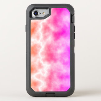 Pink Thunder Storm Sky OtterBox Defender iPhone 8/7 Case