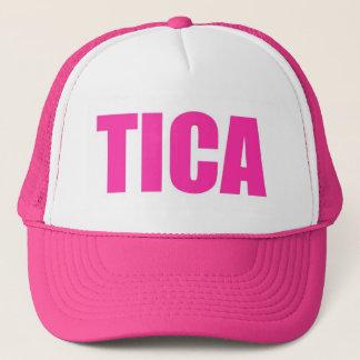 Pink Tica Costa Rica Trucker Hat