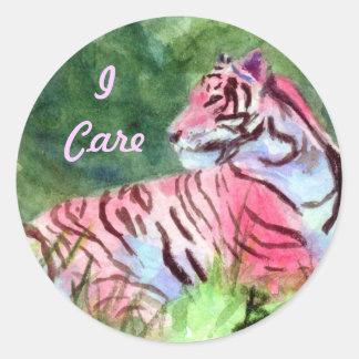 Pink Tiger Sticker