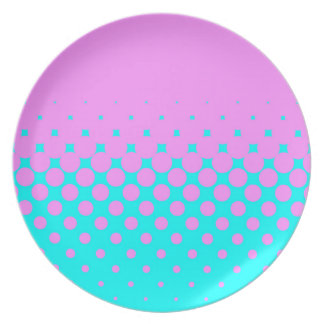 Pink to Blue Plate