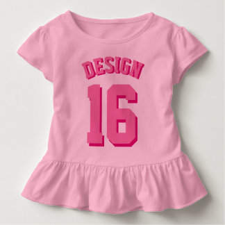 Pink Toddler | Sports Jersey Toddler T-Shirt