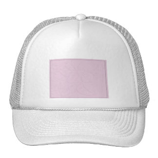 Pink Tone on Tone Hibiscus Trucker Hats