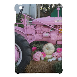 Pink Tractor iPad Mini Cases
