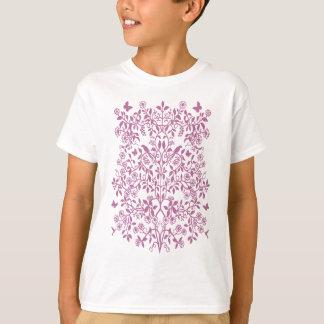 Pink Tree of Life Kids T-Shirt