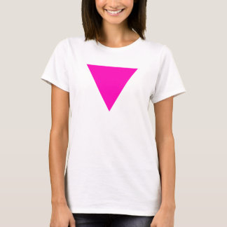 """PINK TRIANGLE"" GAY PRIDE T-Shirt"