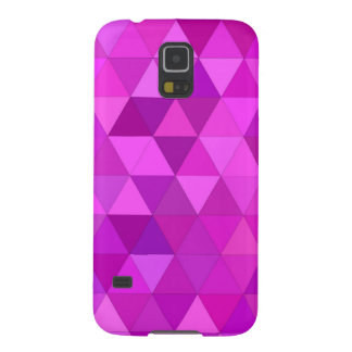 Pink triangles case for galaxy s5