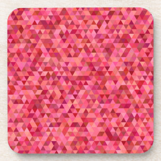 Pink Triangles Coaster