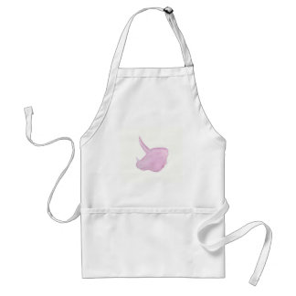 Pink Triceratops Head Standard Apron