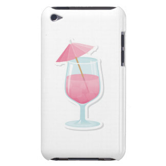 Pink Tropical Cocktail iPod Case-Mate Cases
