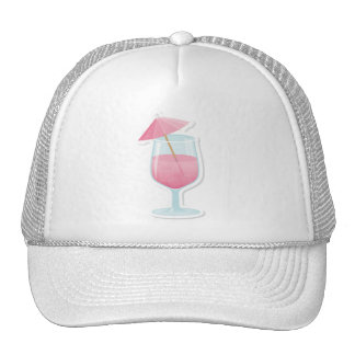 Pink Tropical Cocktail Hat