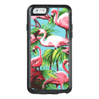 Pink Tropical Flamingos OtterBox iPhone 6/6s Case