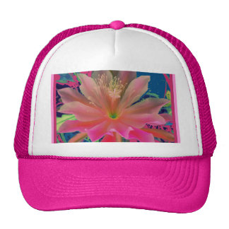 Pink Tropical Flower Gifts by Sharles Trucker Hats