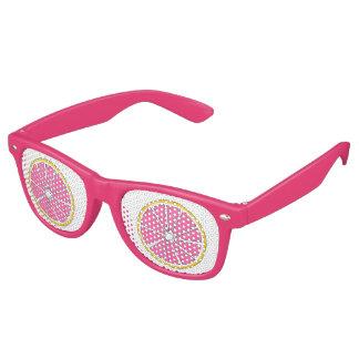 Pink Tropical Grapefruit Citrus Fruit Sunglasses