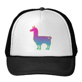 Pink Tropical Llama Cap