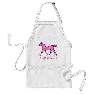 Pink Trotting Horse Aprons