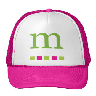 pink truckers hat, 4 the gals