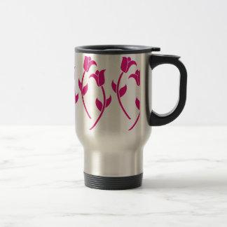 Pink Tulip Graphic Mug