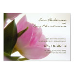 Pink Tulip • Save the Date Announcement