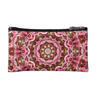 Pink Tulips Cosmetic Bags