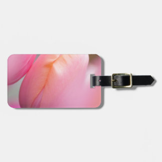 Pink Tulips Luggage Tag