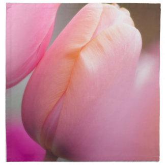Pink Tulips Napkin