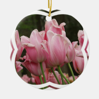 Pink Tulips Ornament